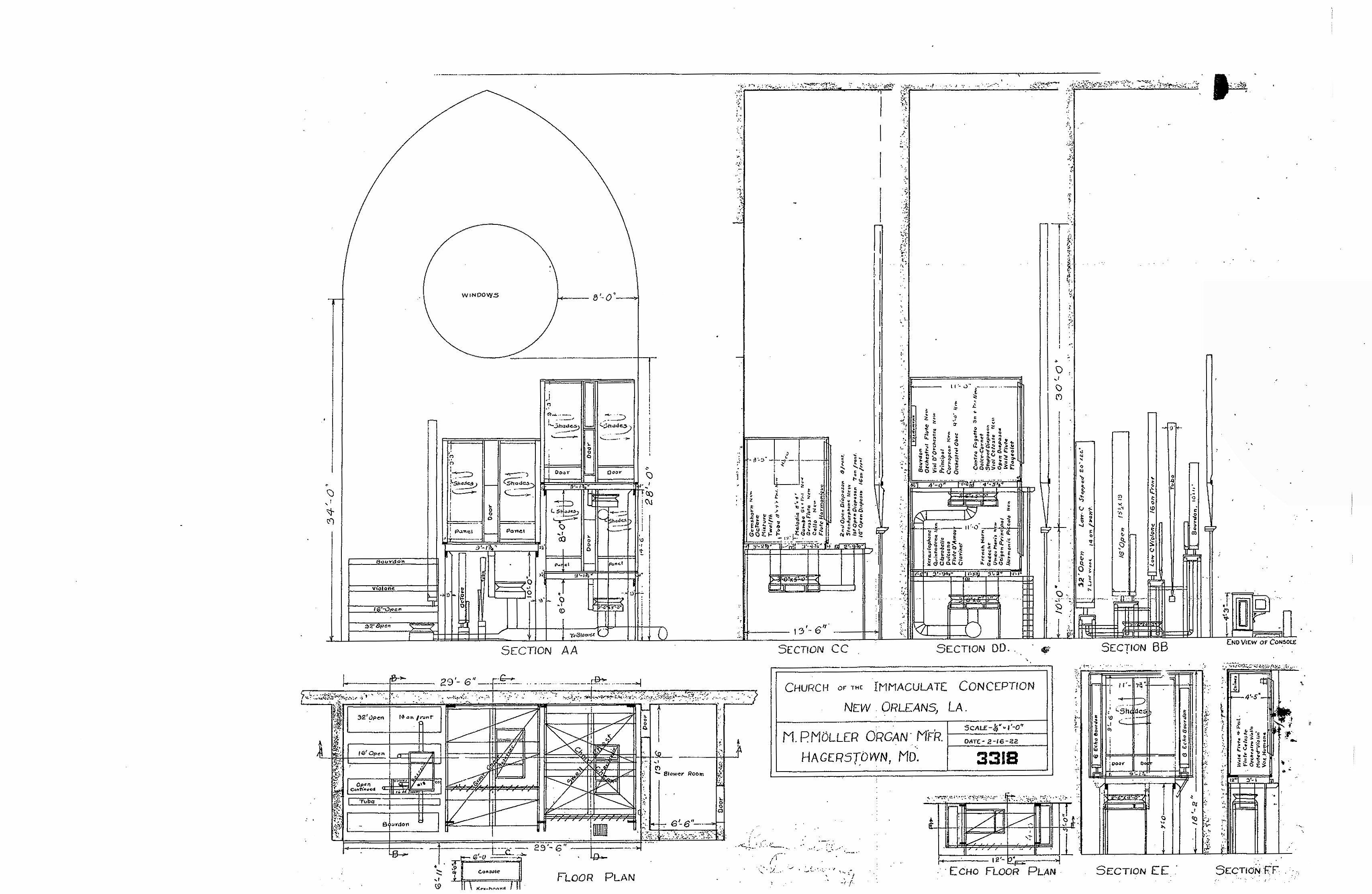 1884 louisiana cotton exposition organ new orleans la the following drawings are reproductions of original moller blueprints for the 1927 1929 installation provided courtesy of the rive pipe organ company malvernweather Image collections