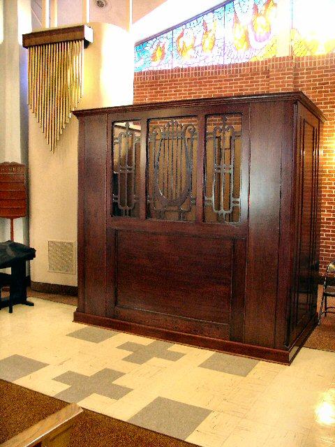 St Mary S Church Raceland La Organ Reconstruction Project